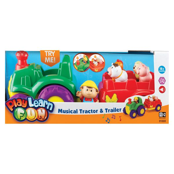 9c82b3b42eb Музыкальный трактор 31222 - Keenway - Японские подгузники и игрушки ...