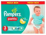 Трусики Pampers Pants 3 (6-11 кг) 120 шт